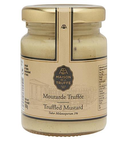 MAISON DE LA TRUFFE Truffled Mustard 100g