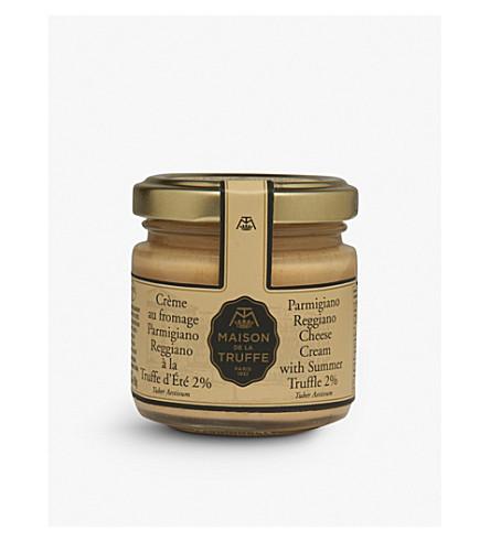 MAISON DE LA TRUFFE Parmigiano Reggiano Cheese Cream with Summer Truffle 90g