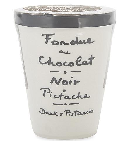 AUX ANEYSETIERS DU ROY Dark chocolate pistachio fondue 200g