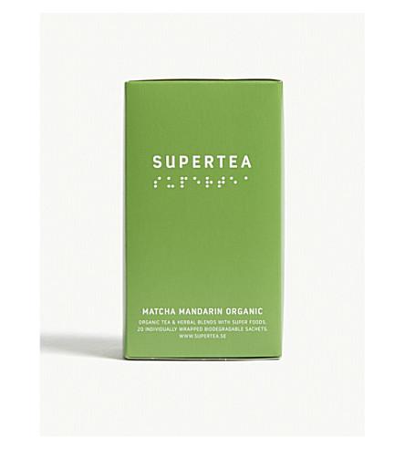 SUPERTEA Matcha mandarin organic tea 30g