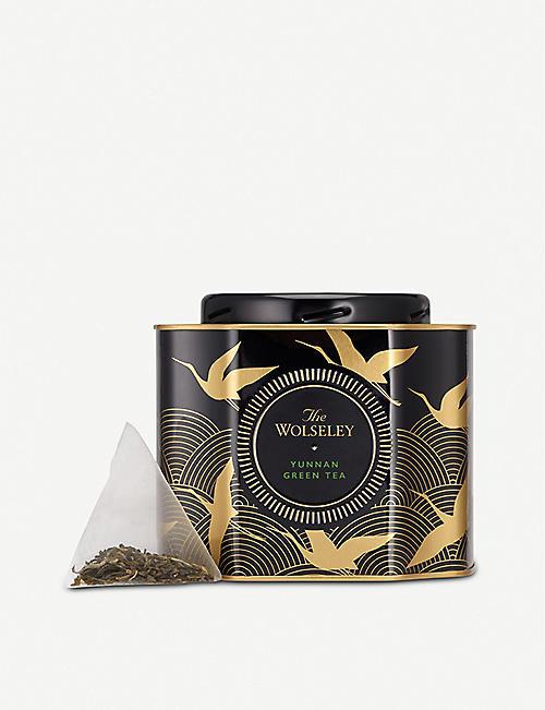 THE WOLSELEY Yunnan green tea bags pack of 20
