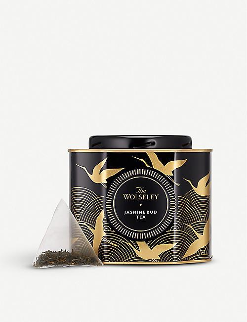 THE WOLSELEY Jasmine Bud tea caddy 20 pyramid teabags
