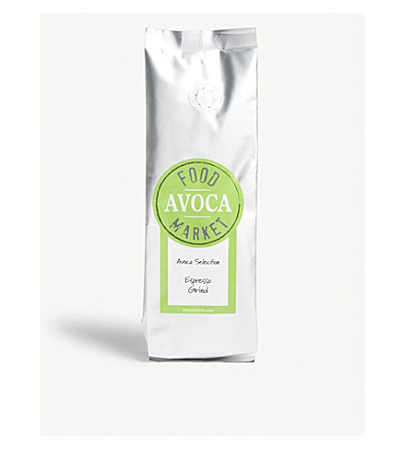 AVOCA Espresso ground coffee beans 250g