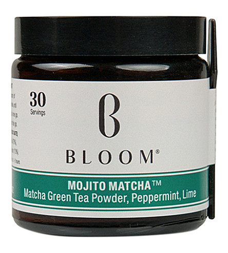 BLOOM Mojito Matcha green tea powder 30g