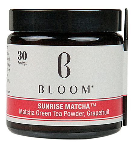 BLOOM Sunrise Matcha green tea powder 30g