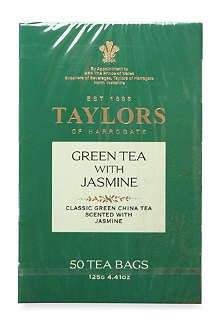 TAYLORS OF HARROGATE Green Jasmine tea bags 125g