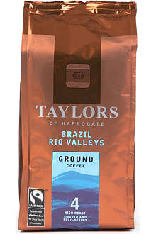 TAYLORS OF HARROGATE Brazil Rio Valleys ground coffee 227g