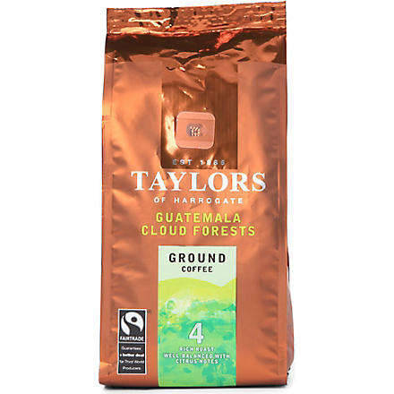 TAYLORS OF HARROGATE Guatamala Cloud Forests ground coffee 227g