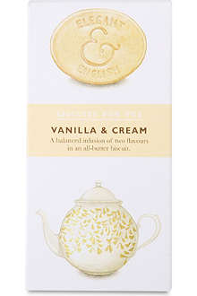 Vanilla and cream biscuits 125g