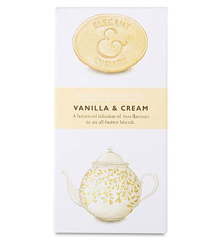 Vanilla and cream biscuits 125g