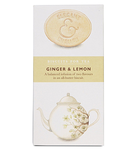 Ginger & Lemon biscuits 125g