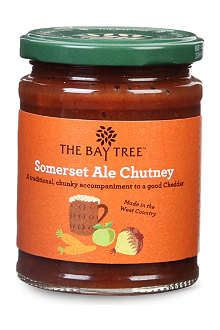 THE BAYTREE Somerset Ale chutney 310g