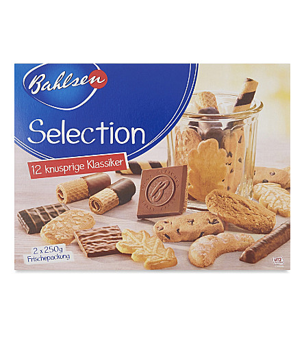 BAHLSEN Twelve crunchy classic biscuits selection 500g