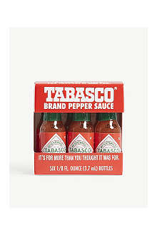 TABASCO Miniature travel pack 6 x 3.7ml