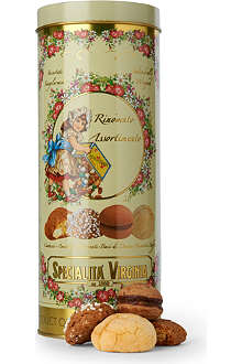 AMARETTI VIRGINIA Assorted soft amaretti gift tin 200g
