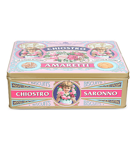 AMARETTI DEL CROSTINI Soft and crunchy amaretti tin