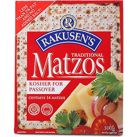 RAKUSEN Traditional matzos 300g