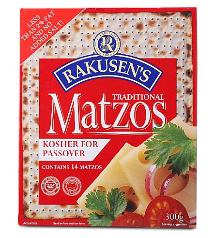 RAKUSEN Traditional matzos 300g