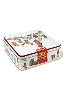 ST KEW Christmas Stocking biscuit tin 400g