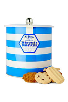 ST KEW Cornish blue biscuit tin 600g