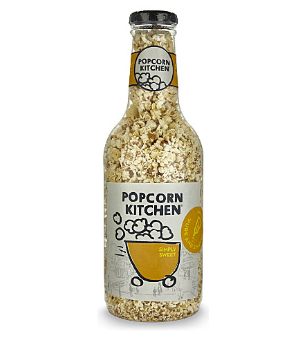 POPCORN KITCHEN Giant money box gourmet Sweet & Salt popcorn bottle 550g