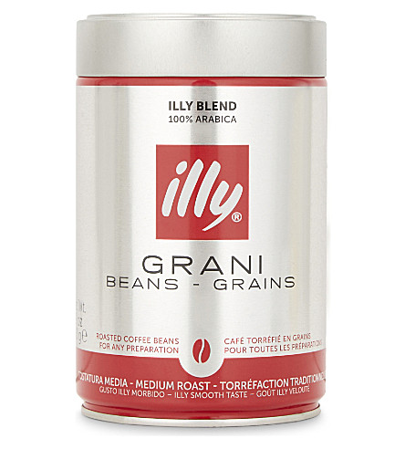ILLY Illy medium roast coffee beans 250g