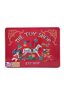 CHRISTMAS Toy Shop Rocking Horse biscuit tin 400g