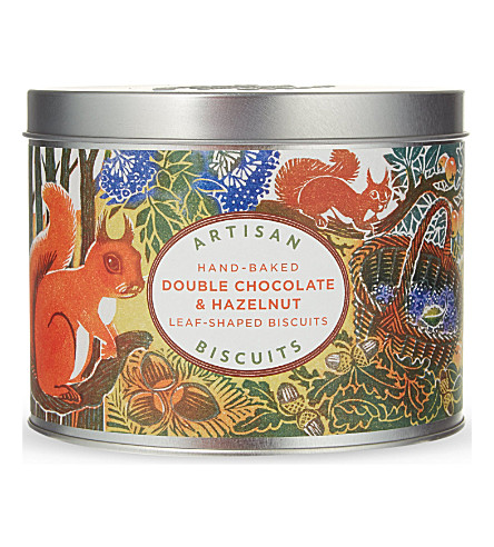 ARTISAN Double chocolate hazelnut biscuits