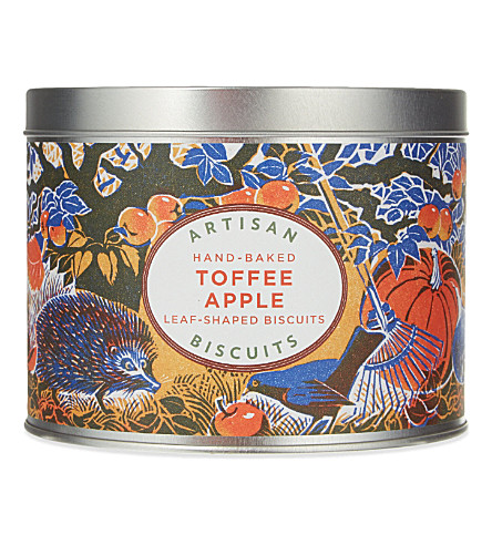 ARTISAN Toffee apple biscuit tin