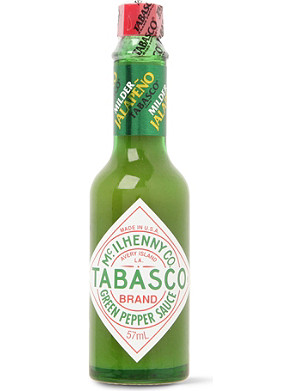 TABASCO Green Jalapeño pepper sauce 57ml
