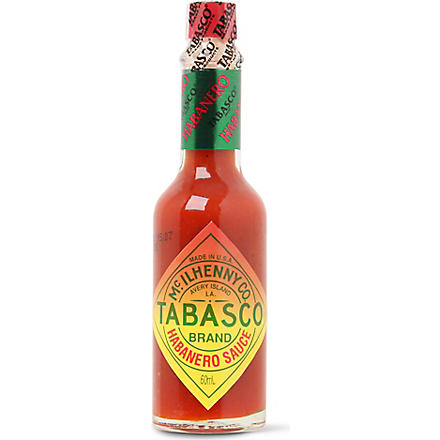 TABASCO Habanero hot pepper sauce 60ml