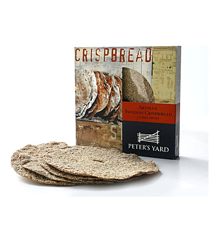 Artisan Swedish crispbread box 350g