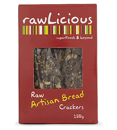 RAWL Raw Italian herb crackers 150g