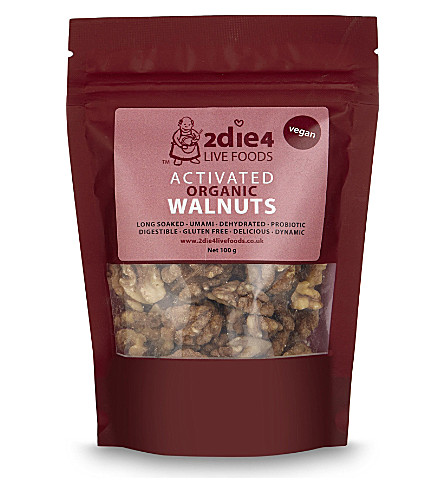 2DIE4 Activated vegan organic walnuts 100g
