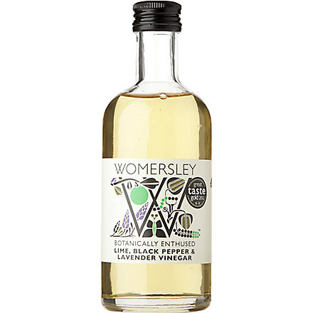 WOMERSLEY Lime, Black Pepper and Lavender vinegar 250ml