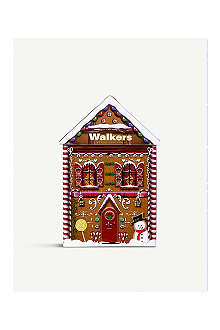 WALKERS Snowman shortbread tin 200g