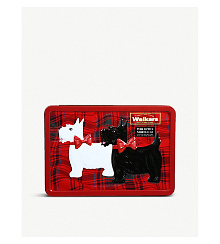 WALKERS Scotty dog shortbread tin 200g
