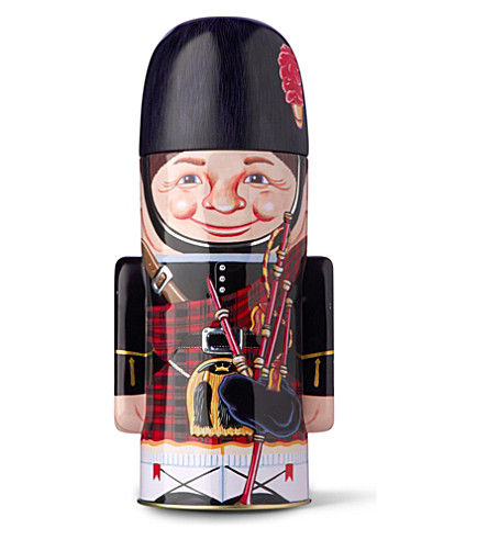 Bagpiper shortbread tin 225g