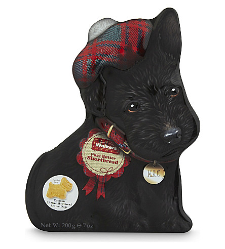 WALKERS Scottie Dog Mac tin 200g