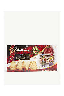 WALKERS Festive shapes shortbread box 350g