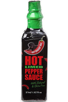 HOT DIGGITY DOG Hot limed chilli pepper sauce 57ml