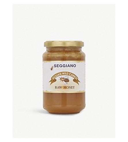 SEGGIANO Raw wild carrot honey 500g