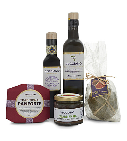 SEGGIANO Oil, fig & panforte selection hamper