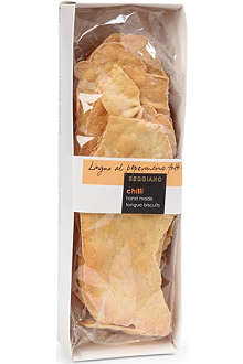 SEGGIANO Chilli tongue biscuits 120g