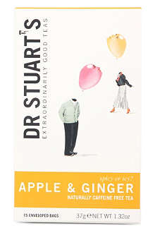 DR STUART'S Apple and Ginger teabags 37g