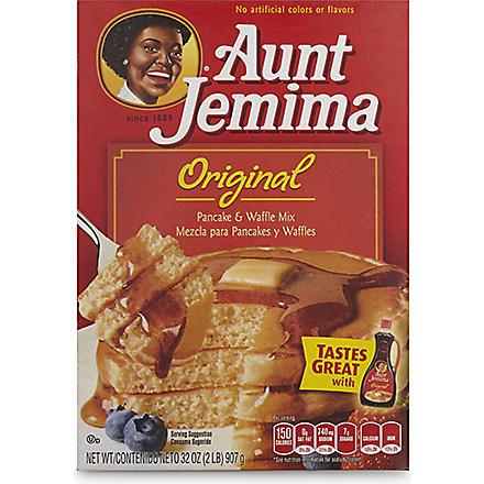 AUNT JEMIMA Pancake and waffle mix 900g