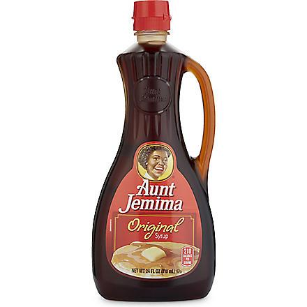 AUNT JEMIMA Original pancake syrup 710ml