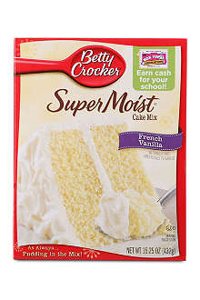 BETTY CROCKER SuperMoist French Vanilla cake mix 432g
