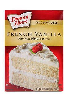 DUNCAN HINES French Vanilla cake mix 517g