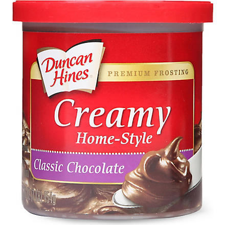 DUNCAN HINES Classic Chocolate frosting